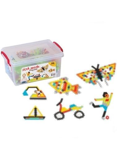 Dede Çiçek Puzzle Küçük Box 250 Parça Renkli